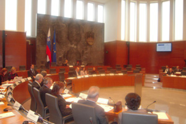 "EUSR Parliament for Europe session III ""Role of Parliament in EU Accession Process – Slovenian experience"""